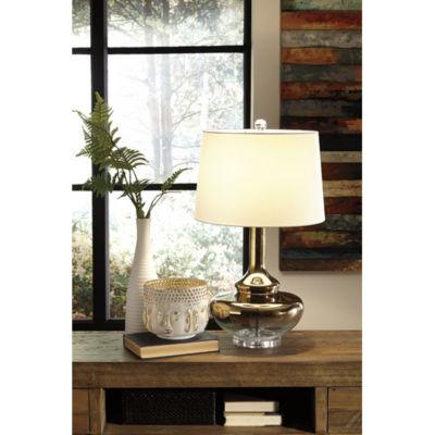 Signature Design by Ashley® Jasmyn Glass Table Lamp