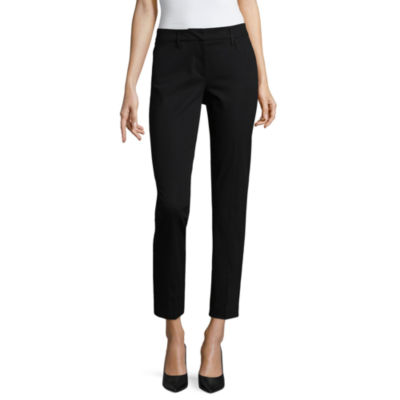 Worthington Womens Regular Fit Ankle Pant