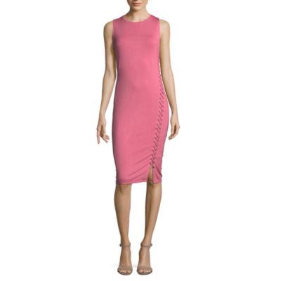 T.D.C Sleeveless Knit Bodycon Dress