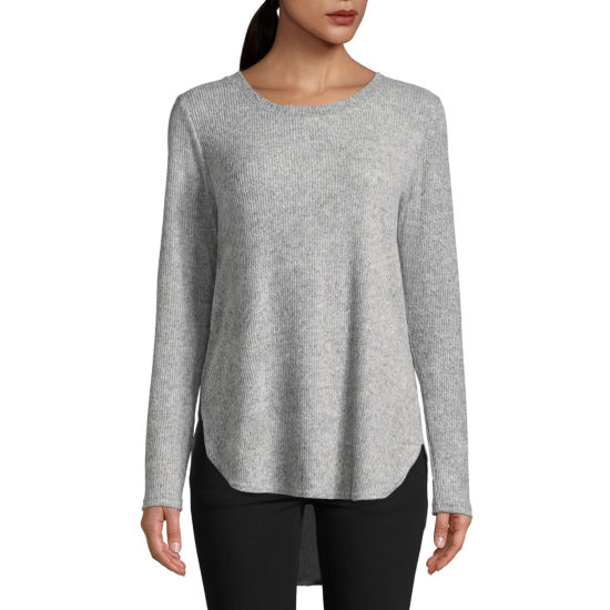 St. John's Bay Active Long Sleeve Tunic