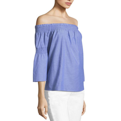 a.n.a Off Shoulder Top