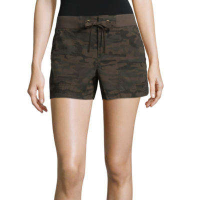 a.n.a Twill Knit Waist Shorts