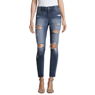 Project Runway Distressed Skinny Jeans