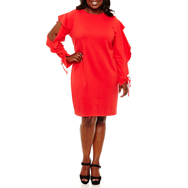 Project Runway Sweatshirt Dress - Plus