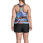 Zeroxposur Tropical Tankini Swimsuit Top or Swimsuit Bottom Plus