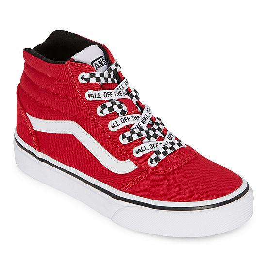 Vans Ward Hi Boys Skate Shoes