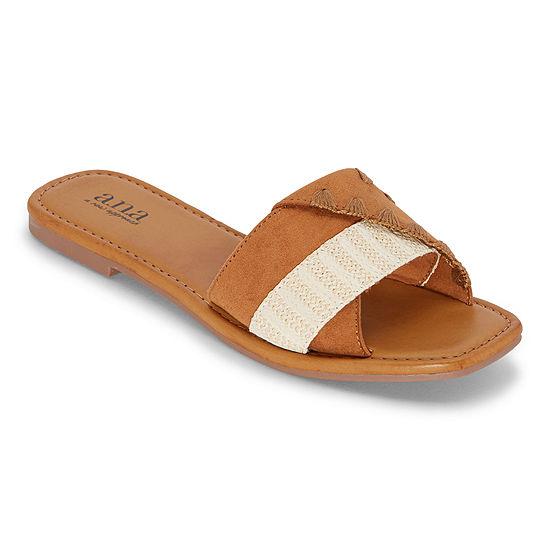 a.n.a Womens Garth Flat Sandals