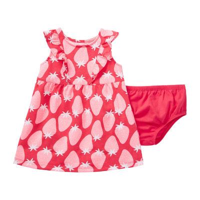 Okie Dokie Girls Sleeveless A-Line Dress - Baby