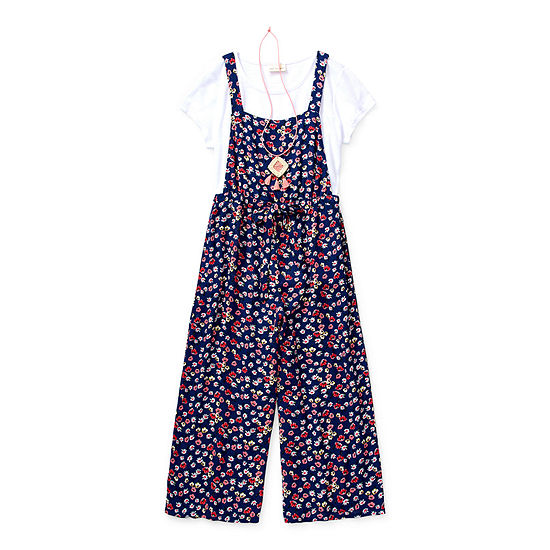 Self Esteem Little & Big Girls 2-pc. Floral Pant Set