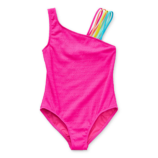 Arizona Little & Big Girls One Piece Swimsuit