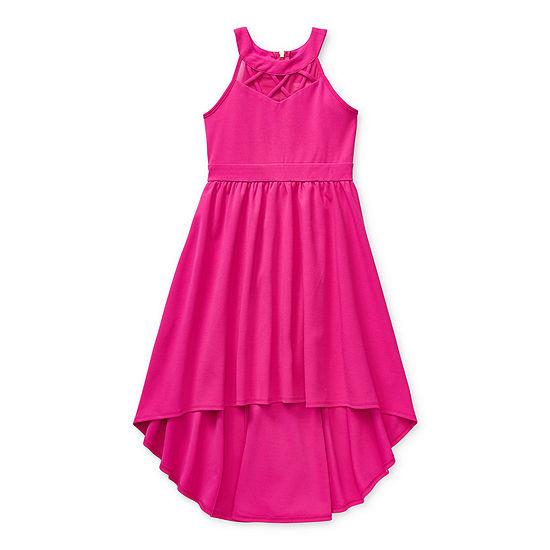 Emerald Gumdrops Big Girls Sleeveless Maxi Dress