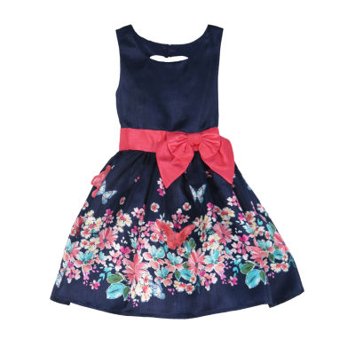 Lilt Little & Big Girls Sleeveless Party Dress