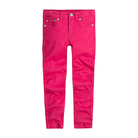Levi's Girls 710 Jet Set Jean Skinny Fit Jean Preschool