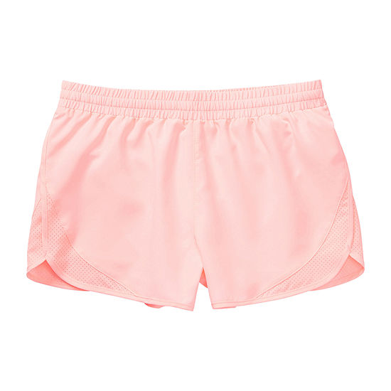 Xersion Little & Big Girls Mid Rise Running Short