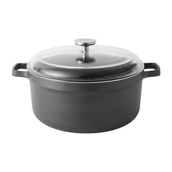"BergHOFF Gem  11"" Covered Stock Pot Aluminum Non-Stick Stockpot"