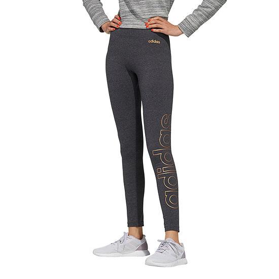 adidas Adidas Metallic Branded Tight Womens Straight Legging
