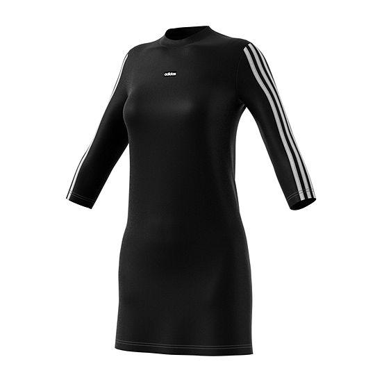 adidas 3/4 Sleeve T-Shirt Dresses