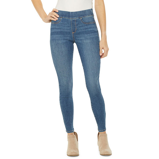 a.n.a Womens Pull On Sculpt Jegging
