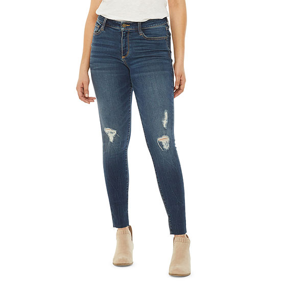 a.n.a Womens Ripped Jegging