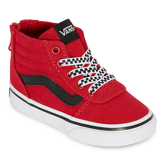 Vans Ward Hi Zip Toddler Boys Skate Shoes