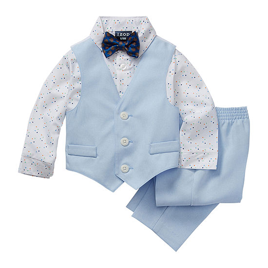 IZOD Baby Boys 4-pc. Suit Set