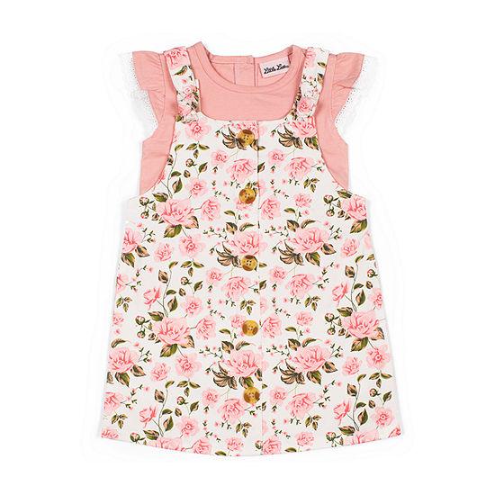 Little Lass - Toddler Girls Sleeveless Jumper