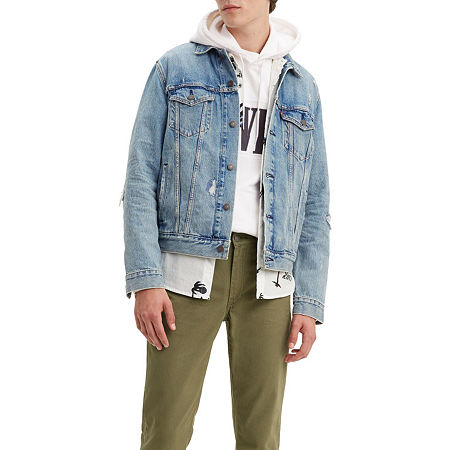 Levi's Get Ripped Lightweight Denim Jacket, Xx-large , Blue