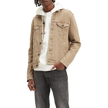 Levi's Harvest Gold Lightweight Denim Jacket, Xx-large , Beige
