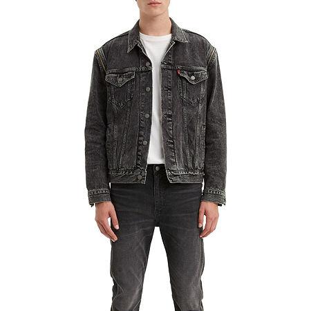 Levi's Packout Lightweight Denim Jacket, X-small , Black