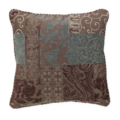 Croscill Classics® Catalina Brown Square Decorative Pillow