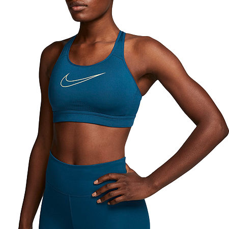 Bra Type: SportsFeatures: Moisture WickingClosure Type: Pullover HeadSupport: Medium SupportFabric Content: 88% Polyester, 12% SpandexFabric Description: KnitCare: Machine WashCountry of Origin: Imported