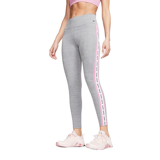 Nike Mid Rise Logo Tape Leggings