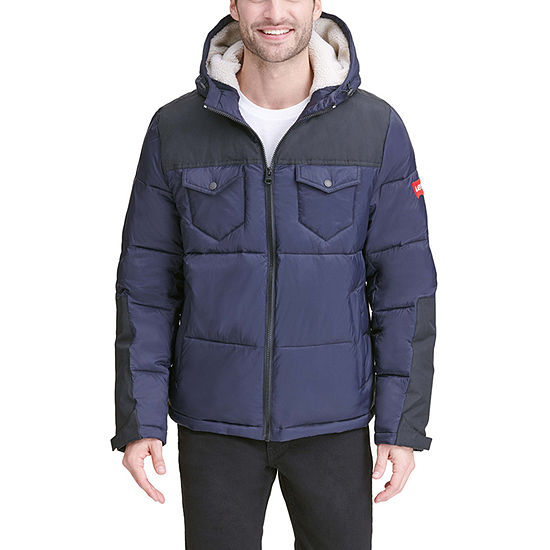 Levi's Fall 20 Chase Hooded Wind Resistant Heavyweight Puffer Jacket