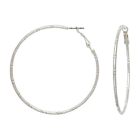 Mixit Drop Earrings, One Size , Silver
