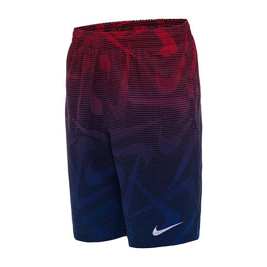 Nike Big Boys Logo Swim Trunks