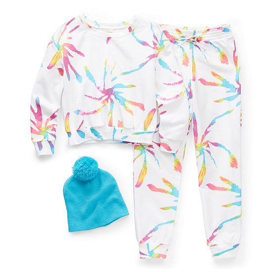 Self Esteem Little & Big Girls 2-pc. Pant Set