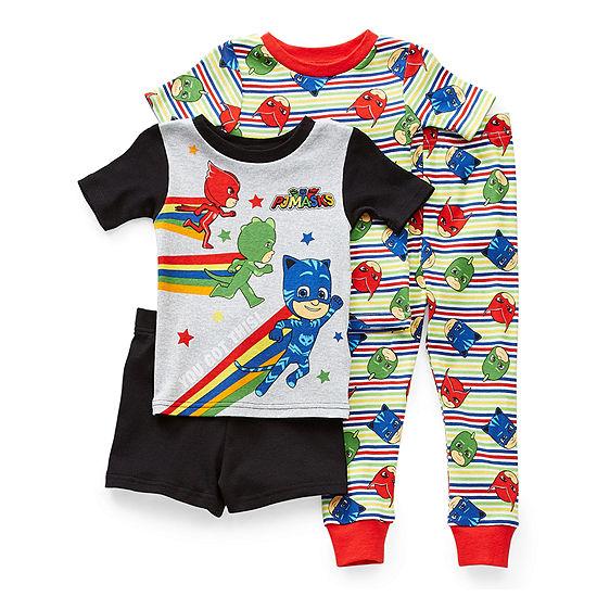 Toddler Boys 4-pc. PJ Masks Pajama Set