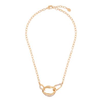Bijoux Bar Bijoux Bar Womens White Link Necklace