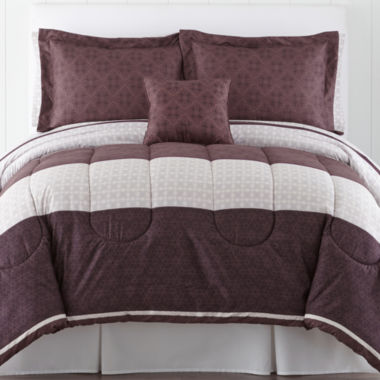 jcpenney.com | Home Expresssions™ Hadley Complete Bedding Set with Sheets Collection