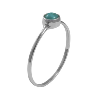 itsy bitsy™ Sterling Silver Simulated Turquoise Ring
