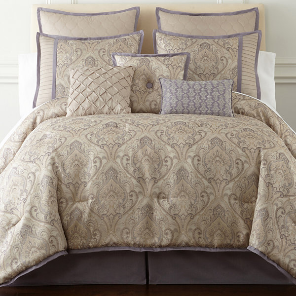 Home Expressions™ Le Reine 7-pc. Comforter Set