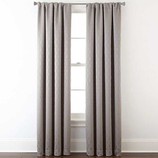 Studio Blackout Rod-Pocket Single Curtain Panel