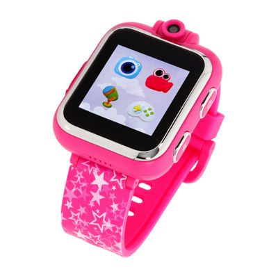 Itouch Playzoom Girls Pink Smart Watch-Ipz13073s06a-Fcp