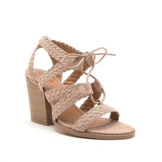 Qupid Womens Barnes 272a Heeled Sandals