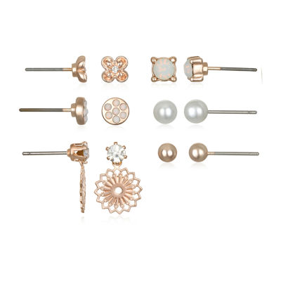 Bijoux Bar 5.3mm Stud Earrings