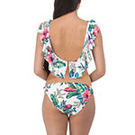Wallflower Floral Hipster Bikini Swimsuit Bottom Juniors