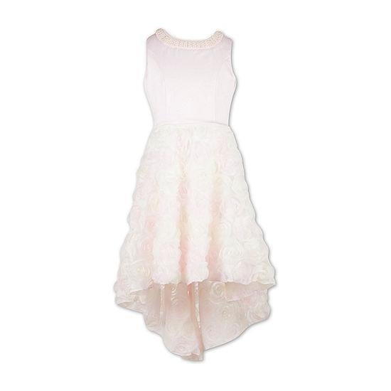 Speechless Embellished Sleeveless Party Dress Big Kid Girls