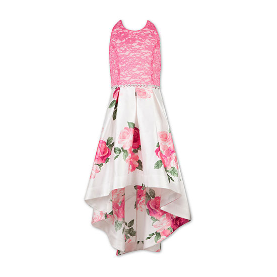 Speechless Embellished Sleeveless Floral Maxi Dress - Big Kid Girls