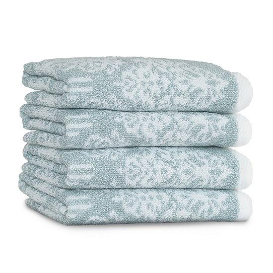 Linum Home Textiles Gioia 4-pc. Washcloth Set