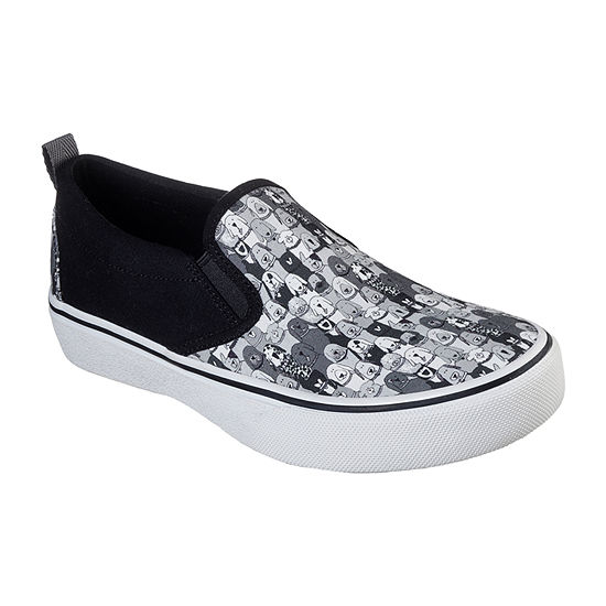 Skechers Bobs Womens Marley Jr Wag Swag Closed Toe Slip-On Shoe